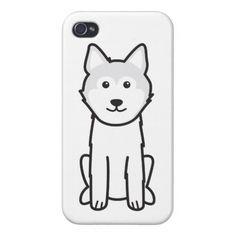 Icelandic Sheepdog Dog Cartoon Case For iPhone 4