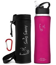 0.35-1L Stainless Steel Metal Thermos Drink Flask Hot Cold Insulate Water Bottle