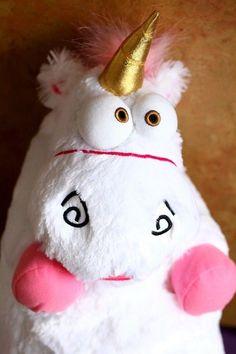 "24"" Despicable Me 2 Minion 3D Stuffed Animal Agnus the Unicorn Plush Pillow toy"