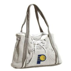 "NBA Indiana Pacers Hoodie Purse by Pro-FAN-ity by Littlearth. $29.99. Sturdy Magnetic Closure and Tied Drawstrings. Officially Licensed. Features Distressed ""PROPERTY OF"" and Team Logo. Kangaroo Front Pocket and One Internal Patch Pocket. Exterior 80% Cotton/ 20% Polyester; Interior 100% Cotton. Contrasting Heather Gray on Bottom and Handles. Pro-FAN-ity by Littlearth offers you the authentic feel of your favorite sweatshirt in their Officially Licensed Hoodie..."