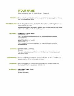 Basic Resumes Nice Idea Resume Basics 12 Best Photos Of Sample Basic Resume  .  Sample Basic Resume