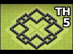Clash of Clans Town Hall 5 Farming Base | TH5 Farming Base Defense Speed Build | HaVoC Gaming Design - YouTube