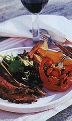Grilled Butterflied Leg of Lamb with Lemon, Herbs, and Garlic Recipe