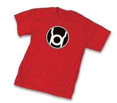 RED LANTERN T-SHIRT    #comicbooks #bigbangtheory #sheldoncooper