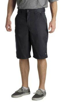 b8e2ad0eaf92 Dickies Regular Fit 36 in. x 13 in. Polyester Slant Multi-Pocket Short Dark  36 - The Home Depot. Wear Area · Men Shorts