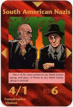 Illuminati card game - South American Nazi's