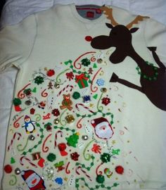The most epic Christmas sweater in all creation.
