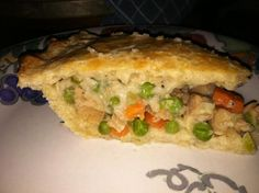 Chicken Pot Pie - No Cholesterol & Extremely Low in Fat &. Photo by Chef C.S.