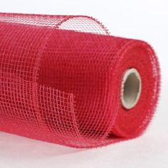 Amazon.com: Rich Red Poly Deco Mesh Netting with Shiny Thread Throughout- 10 Yards Long: Arts, Crafts & Sewing