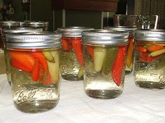 Hot Pepper Vinegar. must make! Great over collards, corn bread and black eyed peas~y