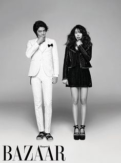 Lee Min Ki and Kim Min Hee Harper's Bazaar Korea Magazine March 2013.