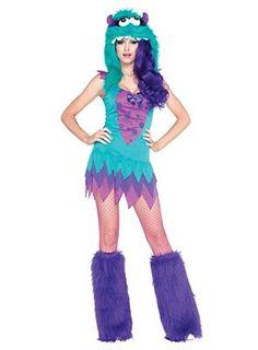 Monster Lady Kostüm