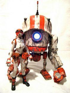 KidAkira custom Bot Head