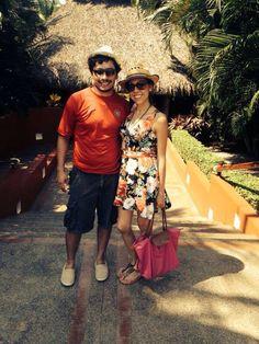 A Pam y Luis les encanta vivir todas las experiencias juntos! Como estar en la playa #TheStoryOfUs