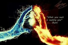 Explore powerful, rare and inspirational Rumi quotes. Here are the 100 greatest Rumi quotations on love, transformation, dreams, happiness and life. Yoga Lyon, Twin Flame Love, Twin Flames, Twin Souls, Rumi Quotes, Mystique, New Age, Nicolas Tesla, Yin Yang