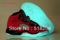 2013 Hot Sale Men's Night Light Basketball Sport Shoes With Tag NAJ0012