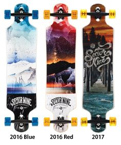 Sector 9 Meridian Longboards Complete