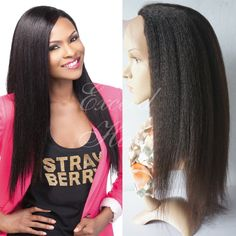 91.90$  Buy now - http://ali9jl.worldwells.pw/go.php?t=32374365148 - italian yaki full lace wig glueless lace front human hair wigs peruvian yaki straight african american lace wigs for black women 91.90$