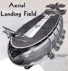 Full Article at mondermechanix.com  Aerial Landing Field 1934: