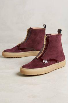 Day Zipper Sneaker Booties