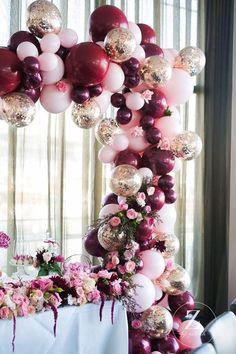 Wedding balloon installation - Photography: Z by Zahrah