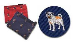 Pug Cosmetic Bag (Dog Breed Make-up Case)