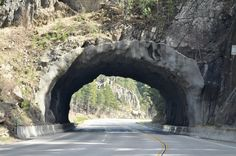 Black Hills Tunnel, South Dakota, USA
