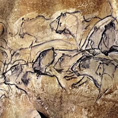 bradshawfoundation.com/ Gallery of Cave Art Paintings from the Chauvet Cave