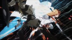 Sword Art Online Asuna Flash In Action
