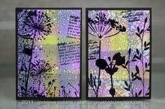 ATC - Flowers by stampingmathilda, via Flickr