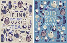 Tea & Coffee - Owen Davey Illustration