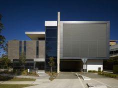 University of Sydney Nepean Clinical School, NSW, Australia University Of Sydney, Commercial Design, Clinic, Skyscraper, Multi Story Building, Australia, Education, School, Skyscrapers