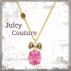 "Spotted while shopping on Poshmark: ""Pink Drop Necklace""! #poshmark #fashion #shopping #style #Juicy Couture #Jewelry"