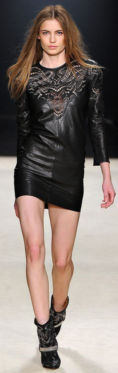 ✪ Isabel Marant RTW Fall 2012 ✪ http://www.vogue.com/collections/fall-2012-rtw/isabel-marant/review/#/collection/runway/fall-2012-rtw/isabel-marant/18