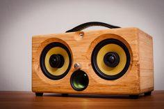 ultimate wooden aptX bluetooth audiophile boombox airplay speaker apple dock for iphone, thodio iBox teak oak zebrawood beech bamboo pono speakers pono wireless pono iphone app pono android app pono bluetooth