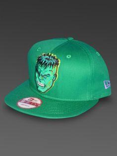 HeroWiz.com - Hulk New Era 9Fifty Snapback Hat Marvel Comics Adjustable Cap 9ab856175f