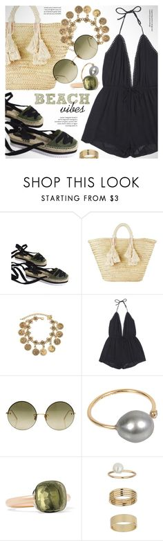 """""""Beach vibes"""" by vn1ta ❤ liked on Polyvore featuring Giselle, mizuki, Pomellato, Miss Selfridge and vintage"""