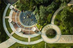 backyard design – Gardening Tips Park Landscape, Urban Landscape, Landscape Design, Architecture Concept Drawings, Landscape Architecture Drawing, Plaza Design, Urban Design Concept, Urban Park, Parking Design