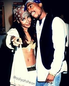 Aaliyah and Tupac