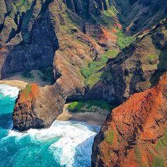 Napali Coast Kauai, Hawaii ☀️