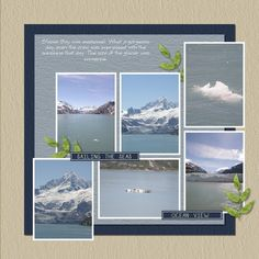 scrapbooking alaska | alaska cruise scrapbook layouts | Scrapbooking-Cruise