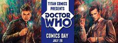 Celebrate Doctor Who Comics Day With Titan Comics