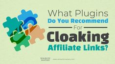 one participant asked about the team's recommended plugins for cloaking affiliate links. Marketing, Cloak, Instagram, Social Media, Tools, Mantle, Cape, Robe
