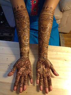 henna tattoo artist's photostream