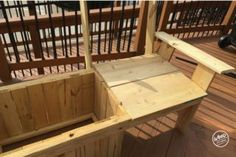 The Most Amazing Cooler Bench Ever : 11 Steps (with Pictures) - Instructables Cooler Cart, Cooler Box, Above Ground Pool Steps, In Ground Pools, Outdoor Furniture Plans, Garden Furniture, Wood Bench Plans, Picnic Table Plans