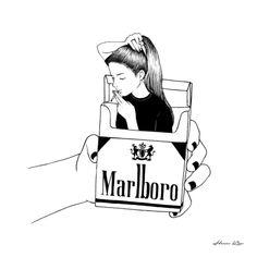 Smoke Art Print by Henn Kim Art Prints, Sketches, Sketch Book, Art Drawings, Drawings, Illustration Art, Art, Art Journal, Pop Art