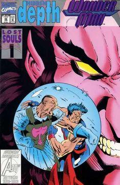 Wonder Man Vol. 2 # 22 by Jeff Johnson & Terry Austin Wonder Man, Man Page, Lost Soul, Comic Book Covers, Thor, Comic Art, Childrens Books, Marvel Comics, Avengers