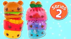 Num Noms Series 2 Freezie Pops - Cheeseburger - Hotdog Diner Foods Delux...