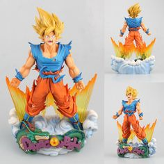 18cm Box Figuarts Zero Super Saiyan 3 Son Goku Pvc Action Figures Dragon Ball Z Collection Model Dbz Esferas Del Dragon Toy Gift High Safety Action & Toy Figures