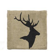 Grafika jeleń (proj. Gie El Home), do kupienia w DecoBazaar.com